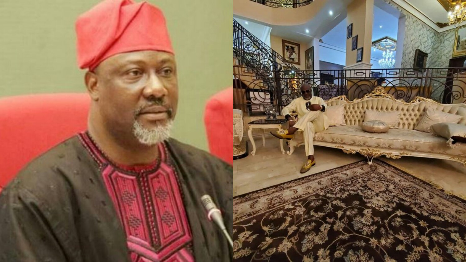 Don T Ask Me How Dino Melaye Shows Off The Interior Of His Massive House Oyo Gist