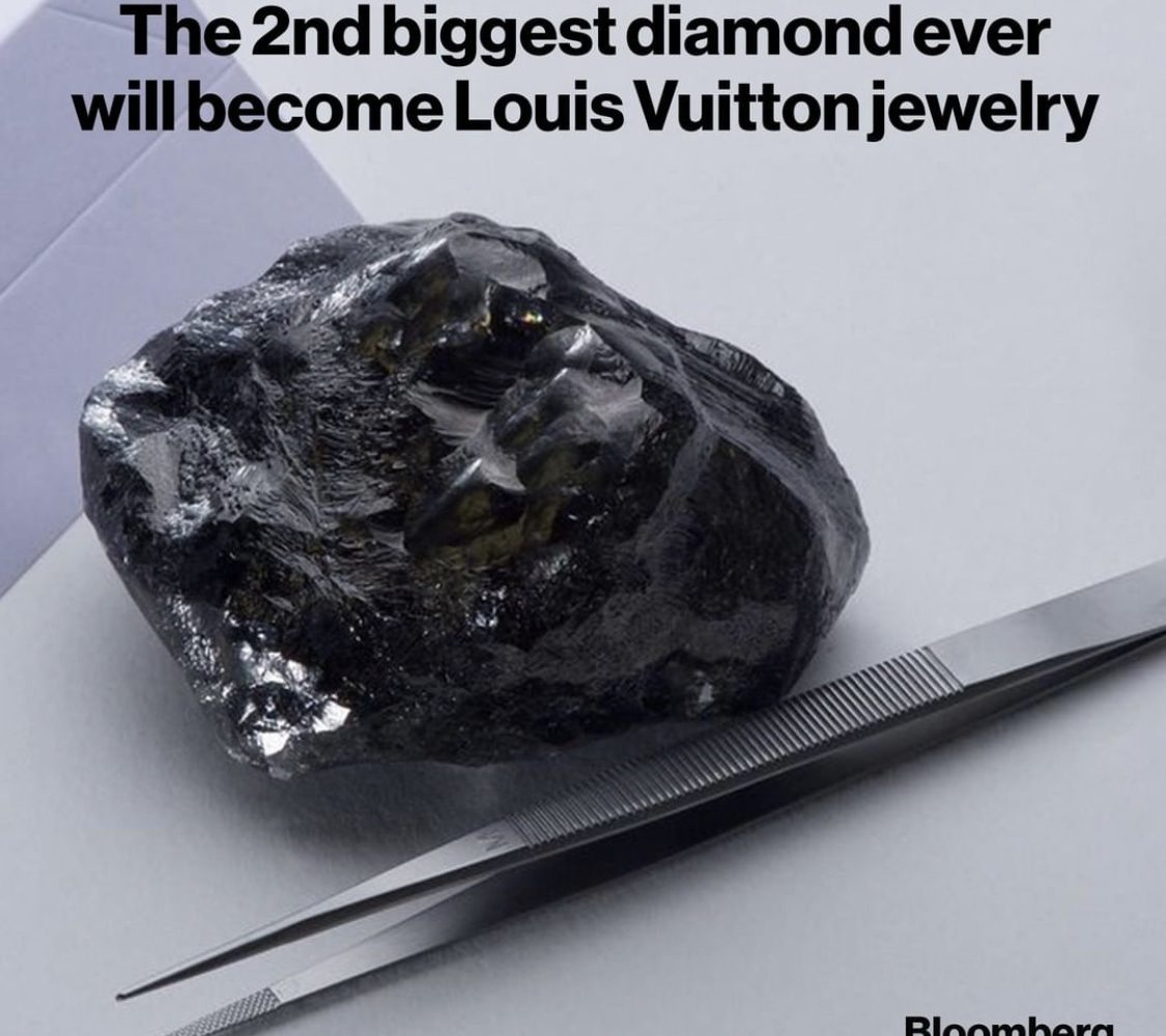 Second-biggest-diamond-displayed-by-Louis-Vuitton