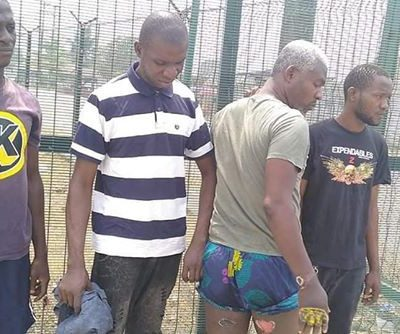 Ikokwu4: See photos of PH men arrested and tortured by police on the false allegation of car theft