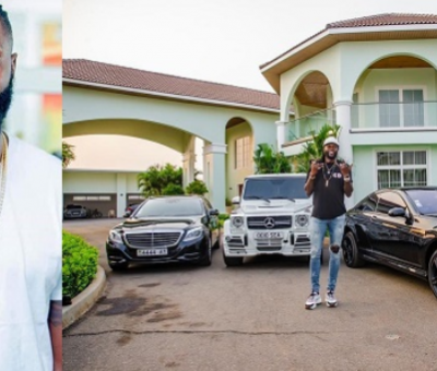 Former soccer star, Emmanuel Adebayor shows off his mansion and cars to celebrate 36th Birthday