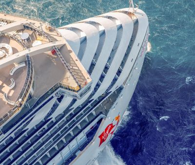 Virgin Group takes delivery of first Virgin's first ship