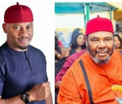 See what happened when Pete Edochie's son told him he's no longer going to school