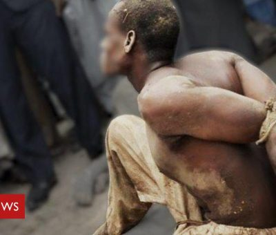 (Graphic)BBC Investigation Reveals Illegal Torture Tactic Used by Nigerian Armed Forces
