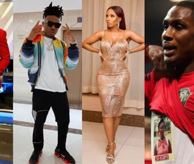 Ebuka, Mayorkun, Mercy Eke, other celebrities react as Ighalo becomes the first Nigerian to score for Man United