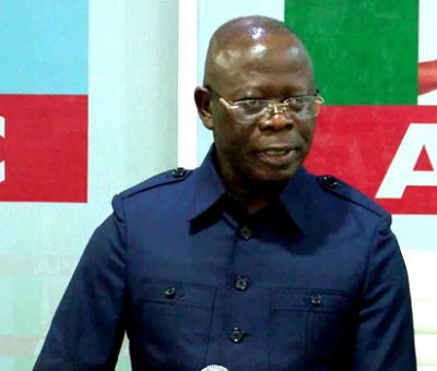 Oshiomole Reveals The People Behind His Ordeal