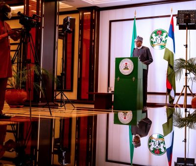 BREAKING NEWS: Buhari Bans all movements in Lagos, Ogun, and FCT over COVID-19