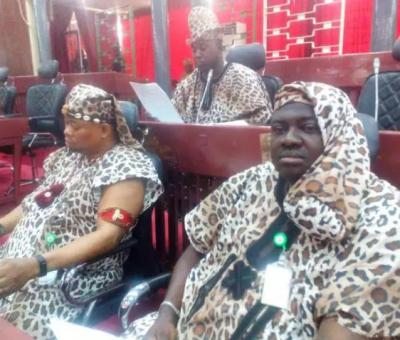 Oyo Lawmakers Appear In Amotekun Attire