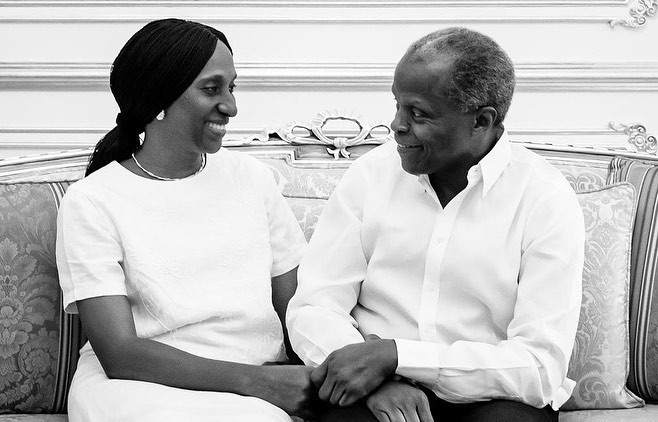 """My special treasure"" Dolapo Osinbajo celebrates her hubby, VP Yemi Osinbajo as he turns 63"