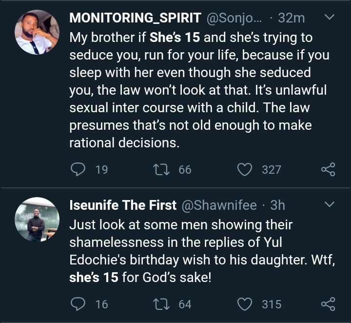 God will Punish All of You - Lady Reacts to People Sexualizing Yul Edochie's 15-year-old Daughter