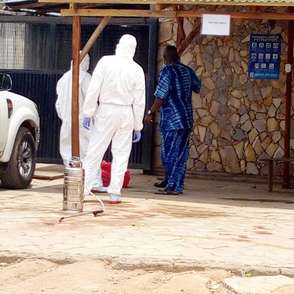 "UPDATE: ""The govt did not shut us, we shut our doors for 14 days to decontaminate!"" - Lafia Hospital, Ibadan"
