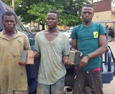 Coronavirus Lockdown : Three arrested for robbing stranded commuters in Lagos.