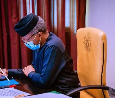 PHOTOS: VP Osinbajo holds Presidential Power Reform c'tee