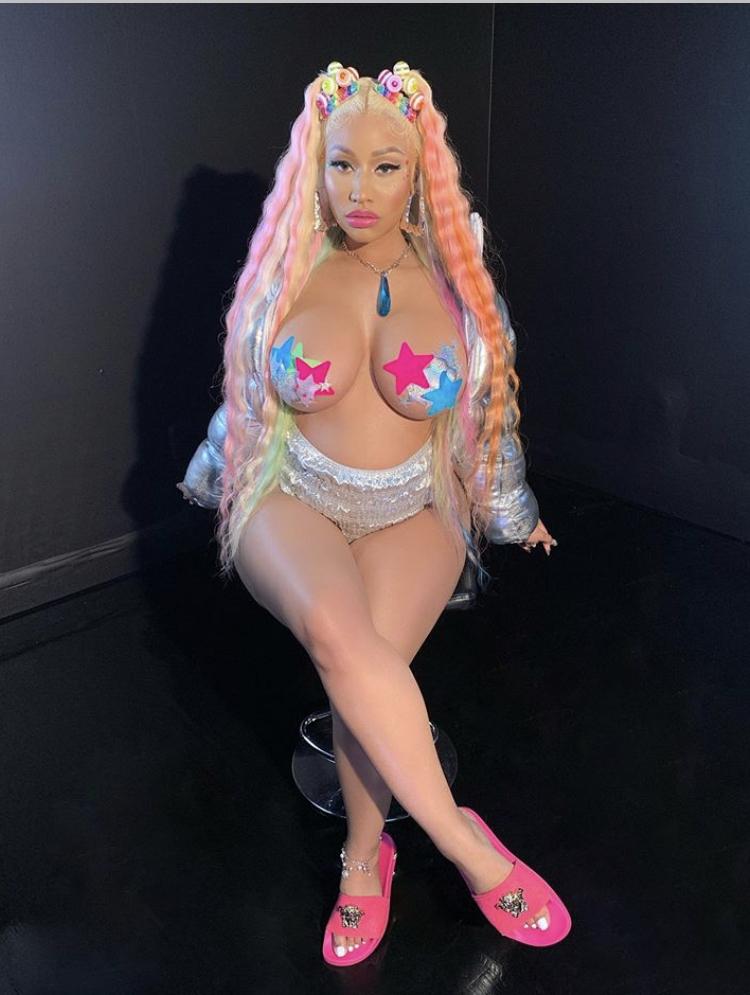 Rapper, Nicki Minaj is pregnant!