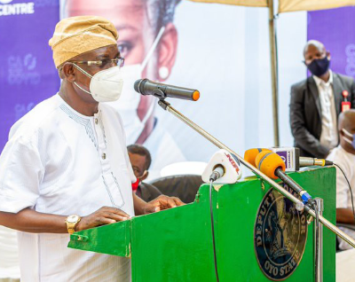 Nigerian Private Sector Coalition Against COVID-19 Donates Medical Equipments to Oyo State Govt