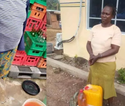 Police Uncovers Illegal Oil Wells In Residential Building In Lagos