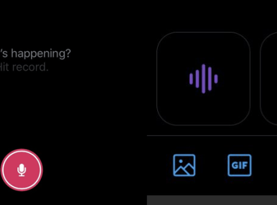New Feature: Twitter Adds Voice Tweets on Twitter for iOS