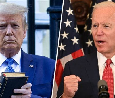 'He's Against God', Trump Accuses Biden
