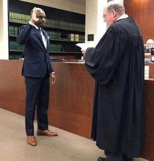 Barr Edirin Okoloko sworn in as US Judge