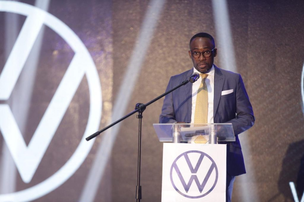 PHOTOS: Ghana's President unveils first VW vehicles assembled in Ghana