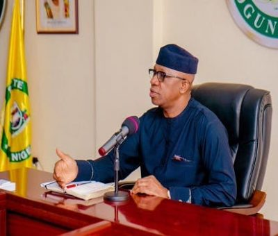 Gov. Dapo Abiodun Lifts Ban on Ogun Weekend Lockdown