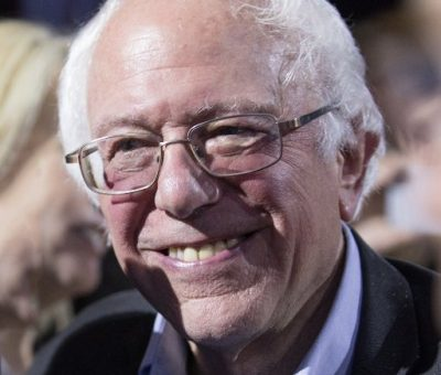 US Senator Bernard Sanders reacts to Jeff Bezos being the first man to worth $200 billion.