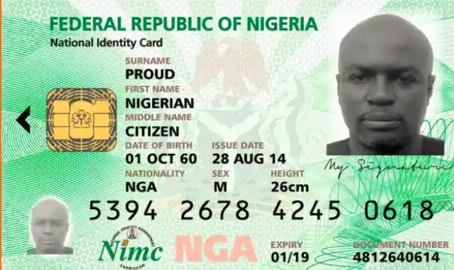 FG To Abandon National Identity Card, Reveals New Means of Identification