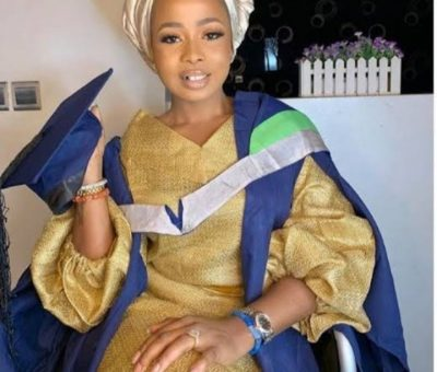 Olori Badirat speaks after her rumored break-up with Alaafin of Oyo.