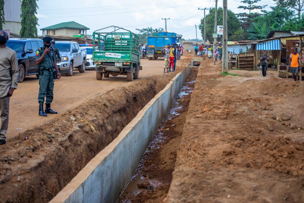 Gov. Seyi Makinde inspected Two ongoing projects in Ibadan.
