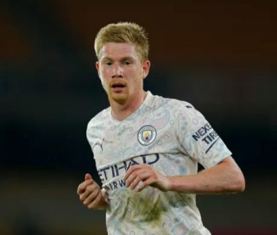 """""""I would prefer to have five goals and assists and go away with the title""""- De Bruyne"""