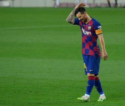 I won't get into any more Conflict with Messi Again- Barca President