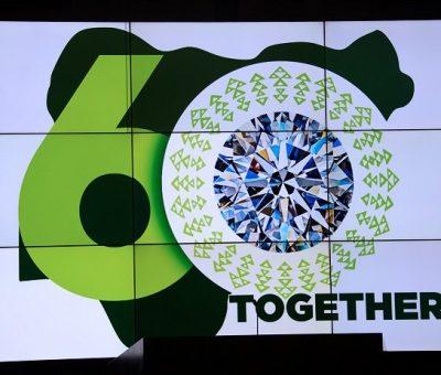 President Buhari unveils the nation's 60th Anniversary Logo