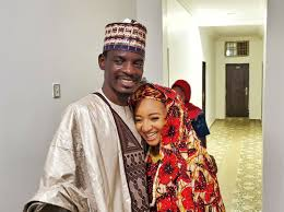 Bashir Ahmad, PA to President M. Buhari celebrates his new wife.