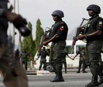 Police Got 1 robber down and others injured in Ogun State