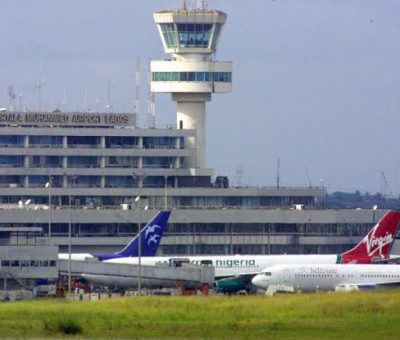 Breaking: First International Flight Lands In Nigeria Since The Start of The Pandemic