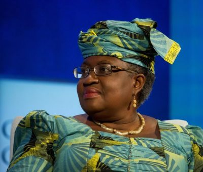 Race to WTO leadership down to two candidates as Okonjo-Iweala breezes through