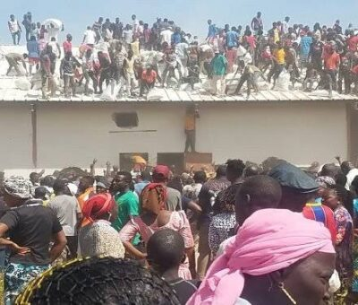 188 suspected looters Arrested in Jos