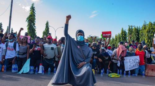 Nigerian #EndSARS Activist, Aisha Yesufu, Claims Her Spot Among BBC's 100 Most Influential Women In The World