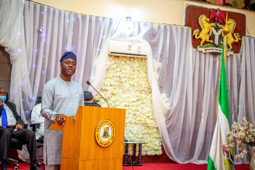 PHOTOS: Gov Seyi Makinde presents 2021 budget