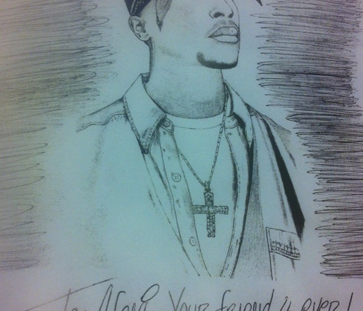 Photo of Eminem's Letter to Late Tupac's mother, Afeni, Surfaces Online