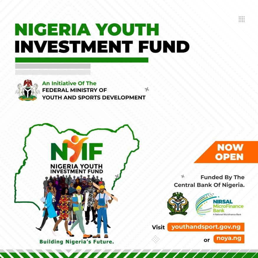 BREAKING: Nigeria Youth Investment Fund portal receives over 1M applications