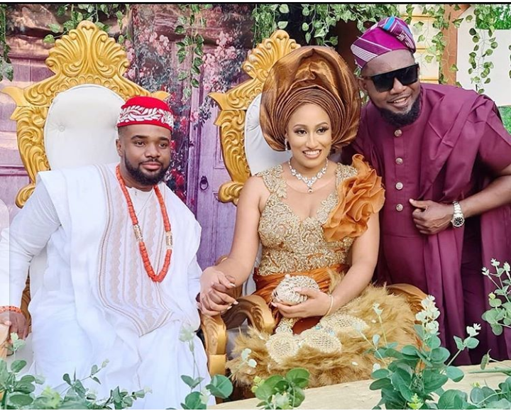Photos from Nollywood actor, Williams Uchemba's traditional wedding