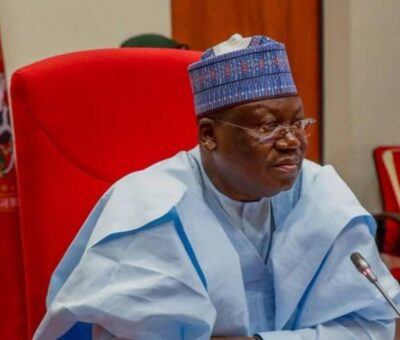 Sen. Ahmed Lawan Urges South Africa To Reciprocate The Good Gestures Shown By The Nigerian Govt