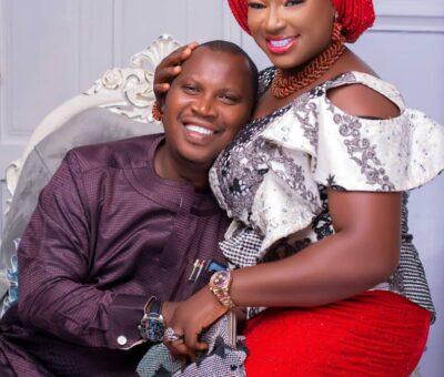 Photos as KunFat Kitchen CEO, Adebanjo Adekunle celebrates wife's birthday