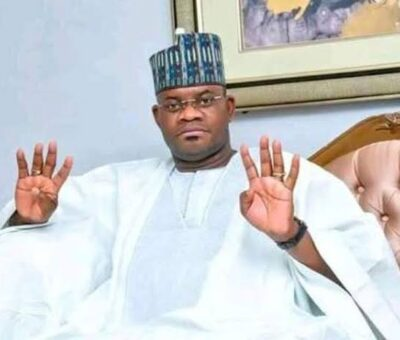 Kogi state legislators urges Governor Yahaya Bello to run for the office of President in 2023