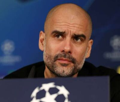 Breaking: Pep Guardiola Signs Two Years Contract Extension With Man City