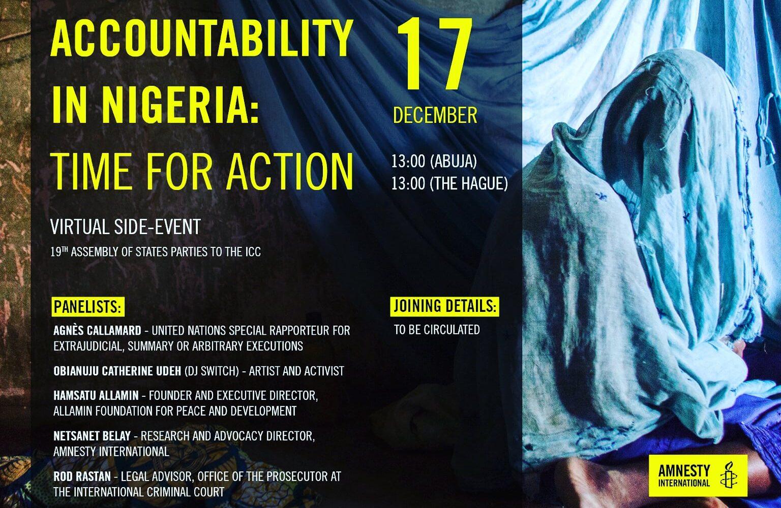 #EndSARS: DJ Switch to address ICC on 'Accountability in Nigeria'