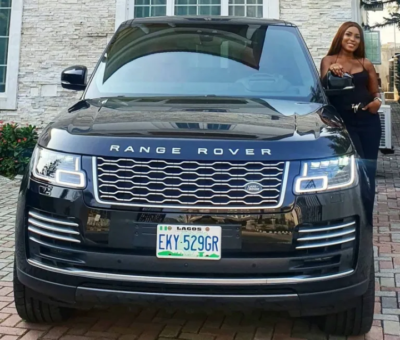 Exclusive: Linda Ikeji Finally Takes Delivery of Her 2020 Range Rover Autobiography