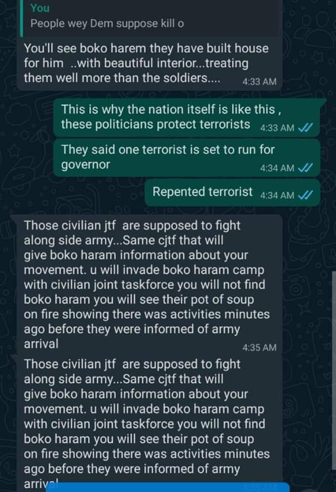 A Nigerian soldier gives alarming account of how Boko Haram killed 43+ farmers