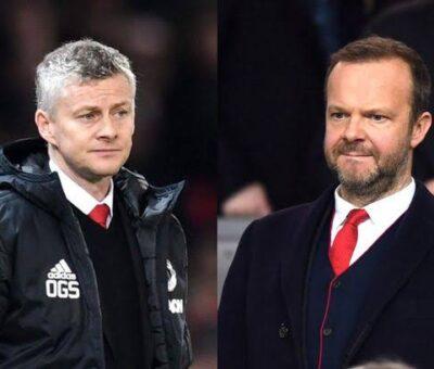 Ed Woodward insists Manchester united won't sack Solskjaer