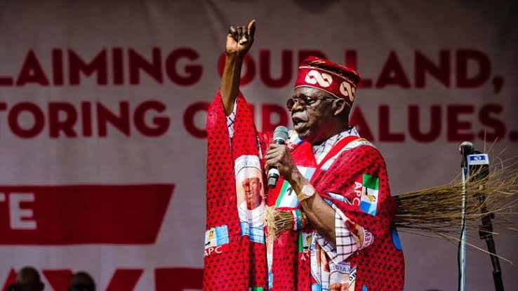 Tinubu presidential ambition keeps getting boost daily after being endorsed by many political leaders and groups within South-West